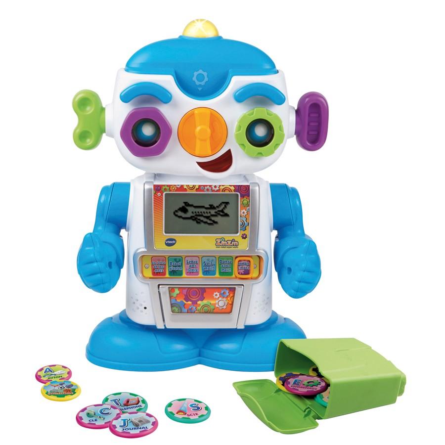 zinzin mon robot super malin