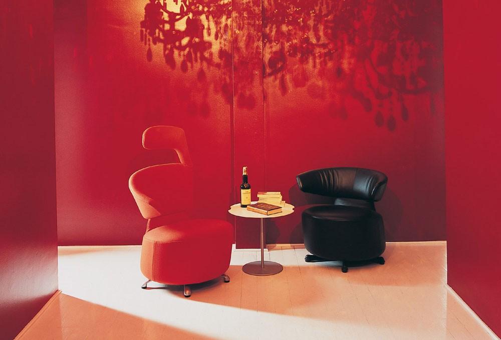 fauteuils Cassina AKI BIKI CANTA par Toshiyuki Kita