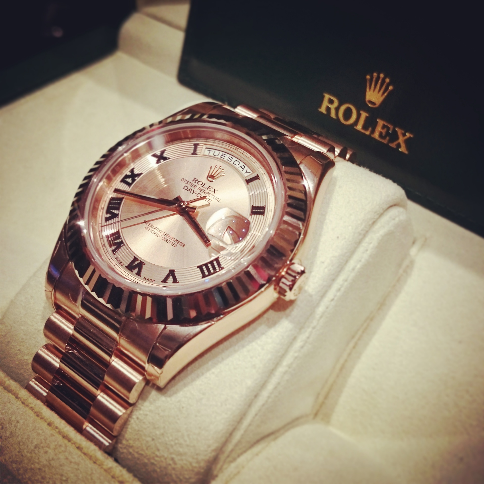 Rolex, le luxe intemporel