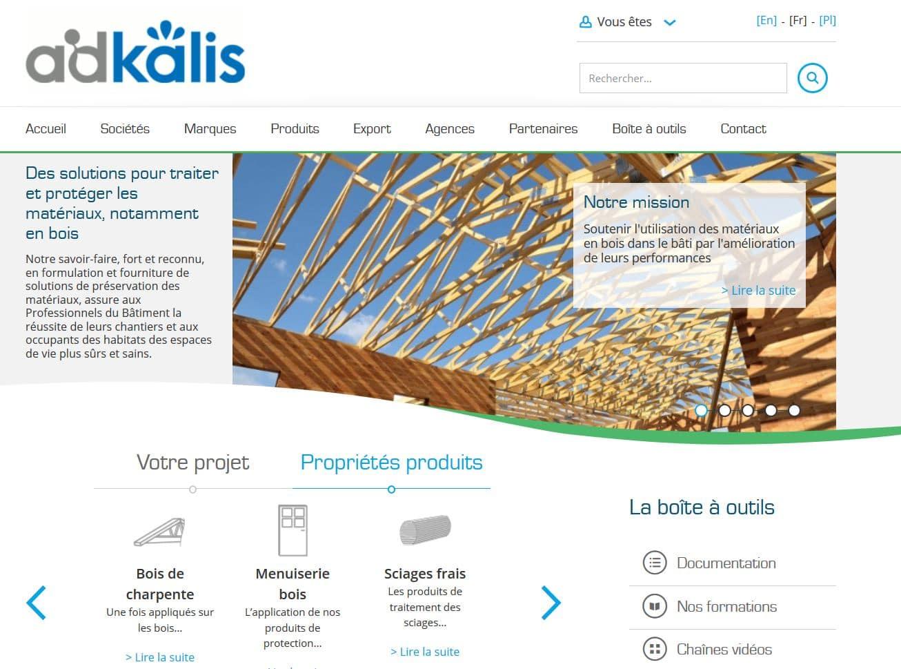Adkalis, spécialiste des produits pour le traitement du bois