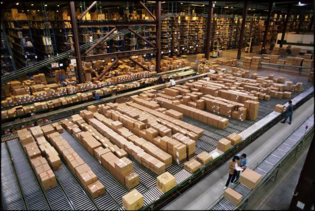 Grand entrepôt de stockage
