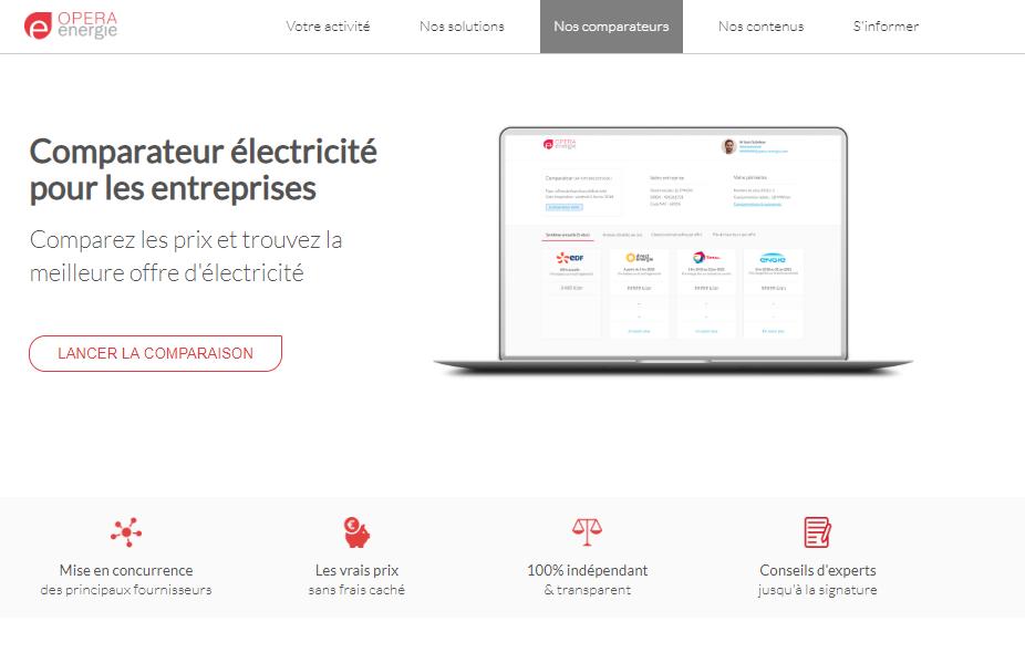 Opéra-Energie, le courtier en électricité et gaz dédié aux professionnels